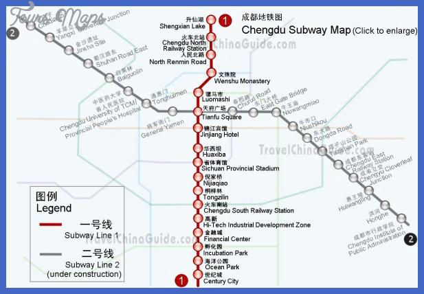 chengdu metro map  2 Chengdu Metro Map
