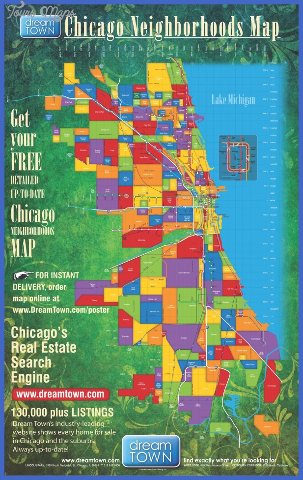 Chicago Map Toursmaps Com
