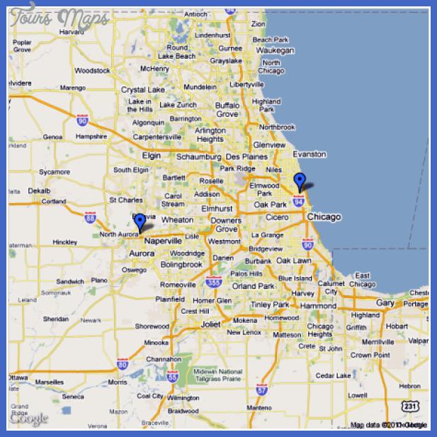 chicagomap Chicago Metro Map