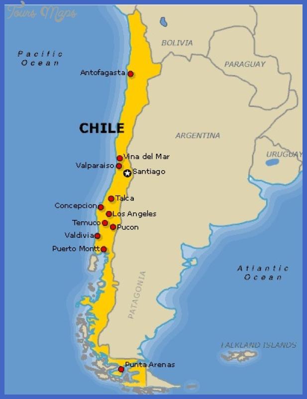 Chile Map - ToursMaps.com ® on