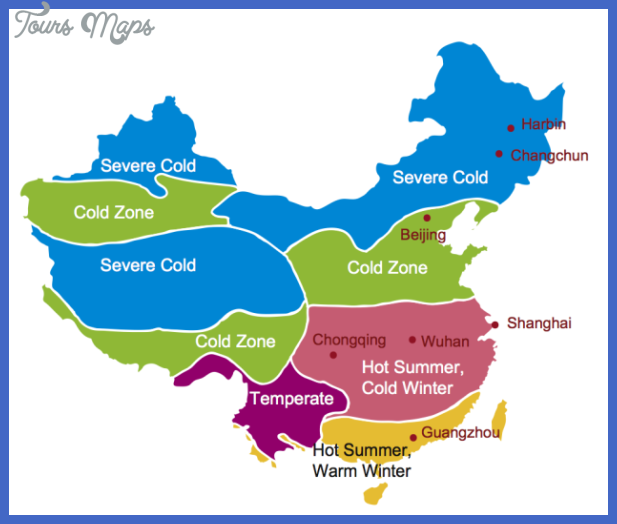 China Climate Zone Map Map Travel Holiday Vacations - Austria climate map