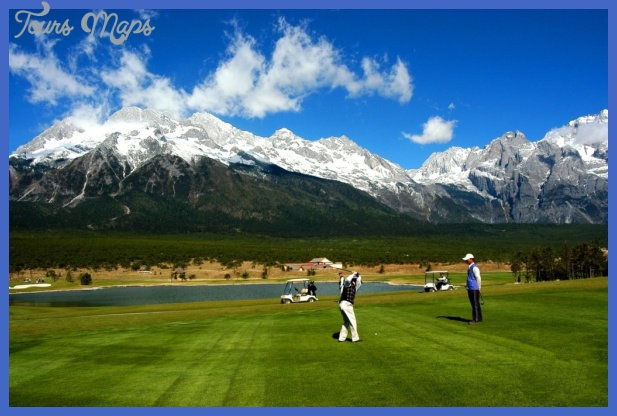 china golf tourism  1 China golf tourism