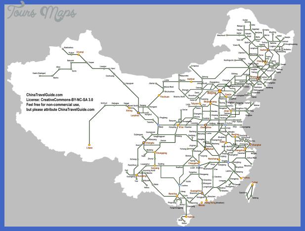 china map train  0 China map train