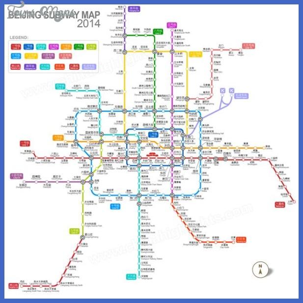 china subway map  3 China Subway Map