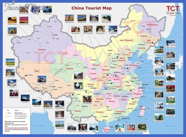 china tourist map  1 China tourist map