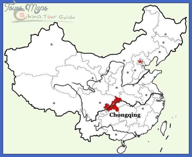 chongqing map tourist attractions  3 Chongqing Map Tourist Attractions