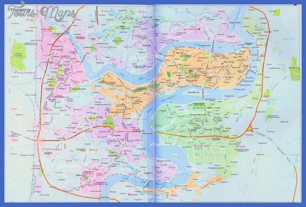 chongqing metro map  13 Chongqing Metro Map