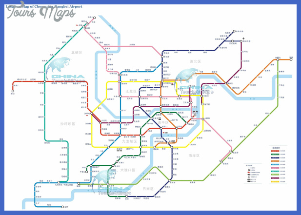 chongqing metro map  3 Chongqing Metro Map