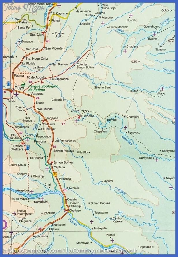 city map quito map northern ecuador 9781553416586 5 Ecuador Subway Map