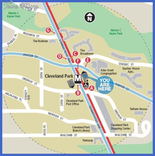 clevelandpark metromap Cleveland Subway Map
