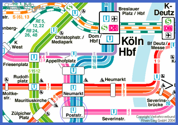 colognebonn subway map  5 Cologne Bonn Subway Map