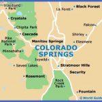 colorado springs map 150x150 El Paso Map Tourist Attractions