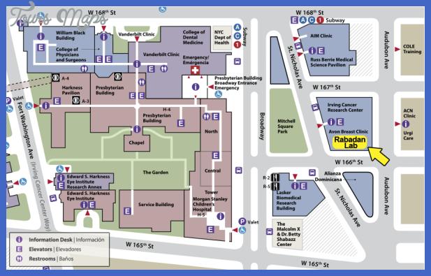 contact map Irving Subway Map