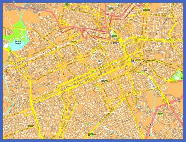 curitiba streetmap Curitiba Map