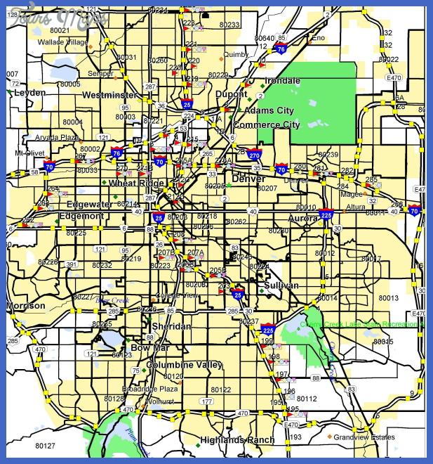 denver subway map  0 Denver Subway Map