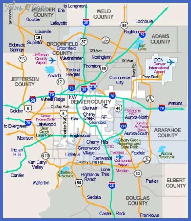 denver subway map  1 Denver Subway Map