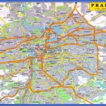 detailed road map of praha city 150x150 Czech Republic Subway Map