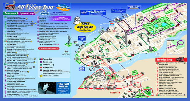 Buffalo Map Tourist Attractions ToursMapsCom – New York City Map With Tourist Attractions