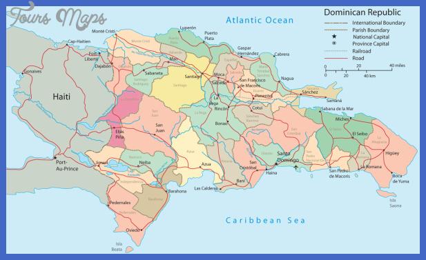 dominican republic Dominican Republic Map