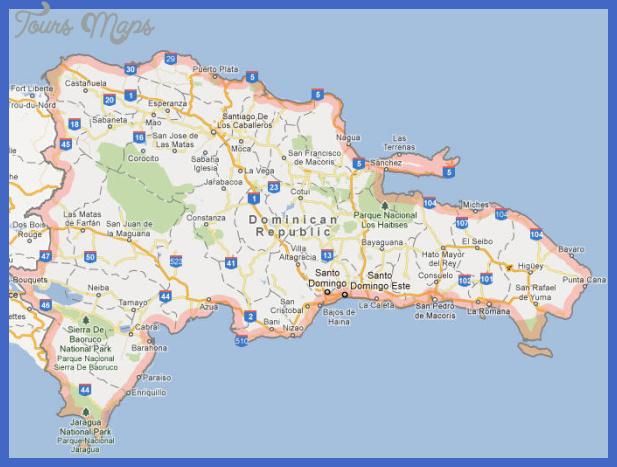 dominican republic map Dominican Republic Map