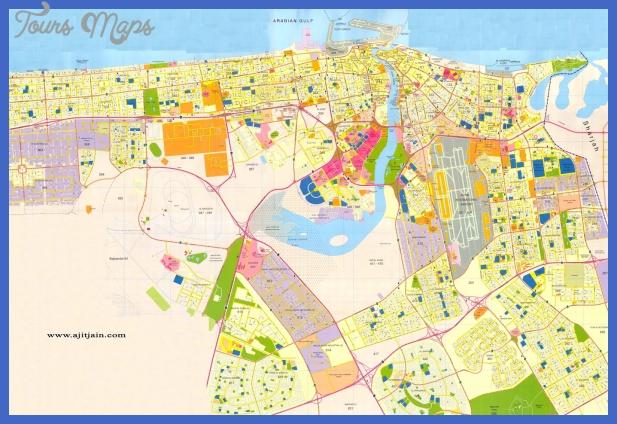 dubai map  0 Dubai Map
