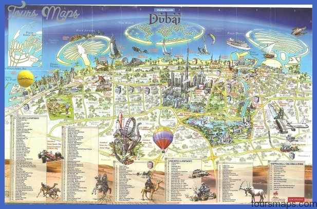 dubai map mini Dubai Map