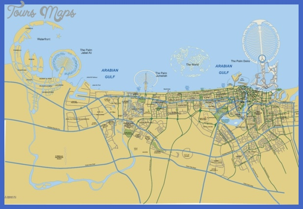 dubai map Dubai Map