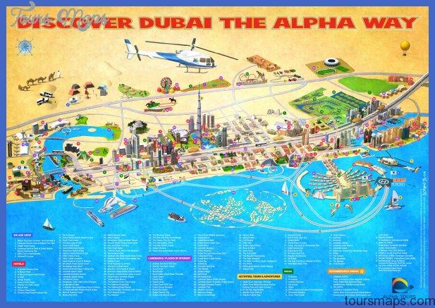 dubai map big Ghana Map Tourist Attractions