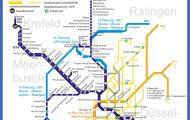 Stadtbahn : Duisburg U-Bahn-Karte , Deutschland