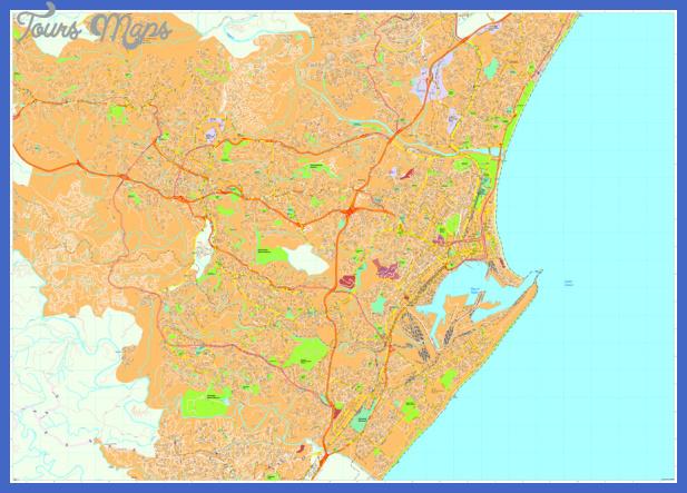 durban map Durban Map