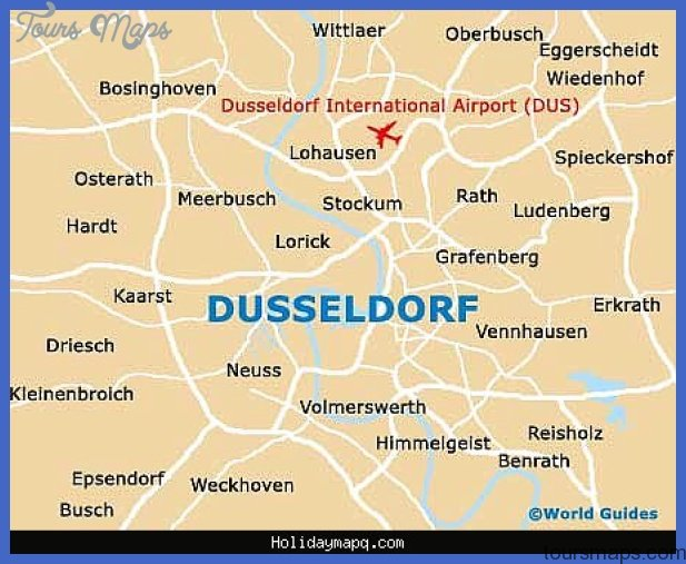 essendusseldorf map tourist attractions  3 Essen Düsseldorf Map Tourist Attractions