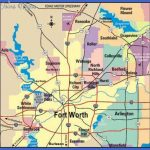 fortworth map 150x150 Fort Worth Map Tourist Attractions