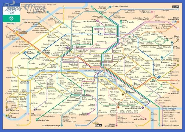 france subway map  0 France Subway Map