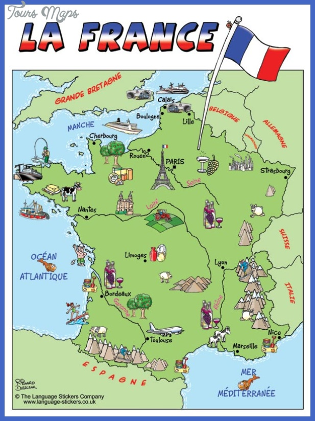 francemap France Map Tourist Attractions