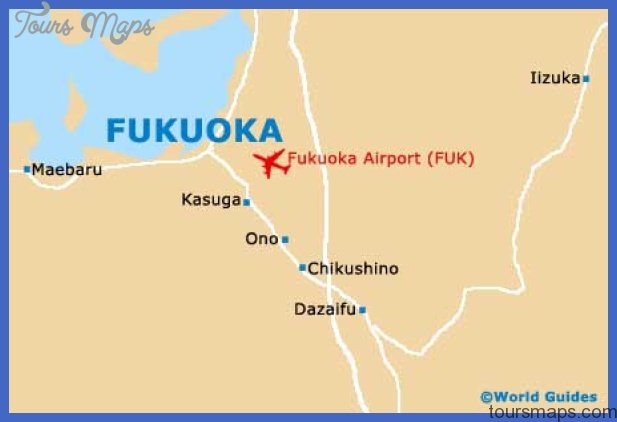 fukuoka city map Fukuoka Map Tourist Attractions