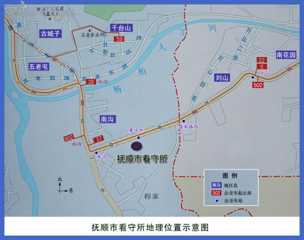 fushun map  11 Fushun Map