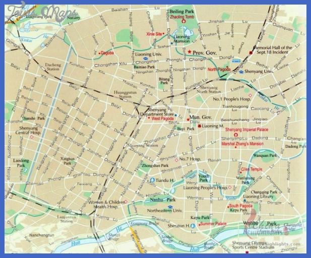 fushun map tourist attractions  13 Fushun Map Tourist Attractions