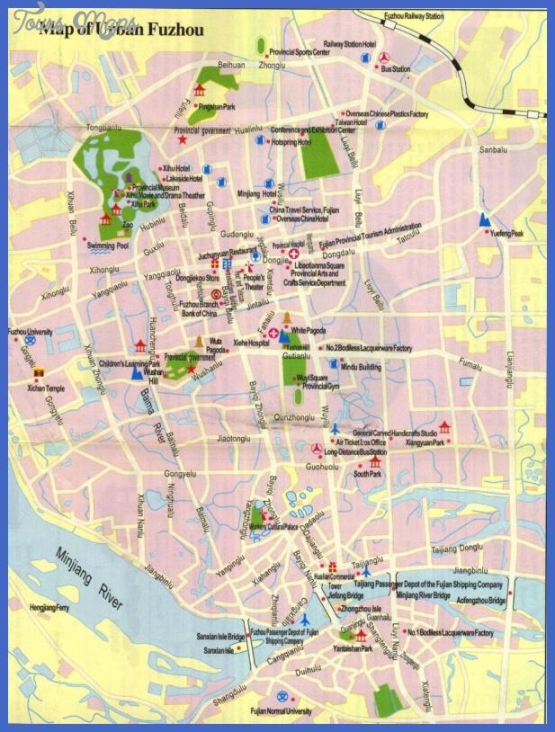fuzhou metro map  5 Fuzhou Metro Map