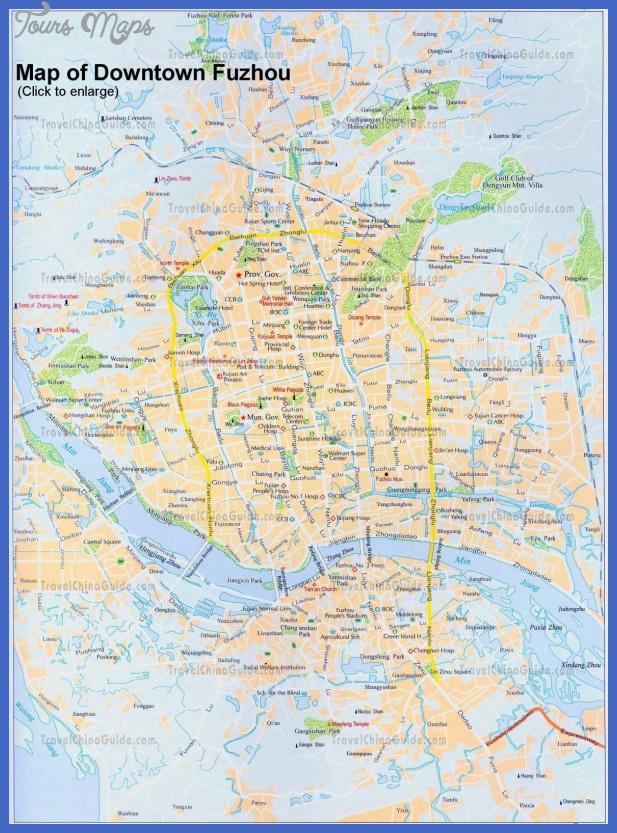 fuzhou metro map  9 Fuzhou Metro Map