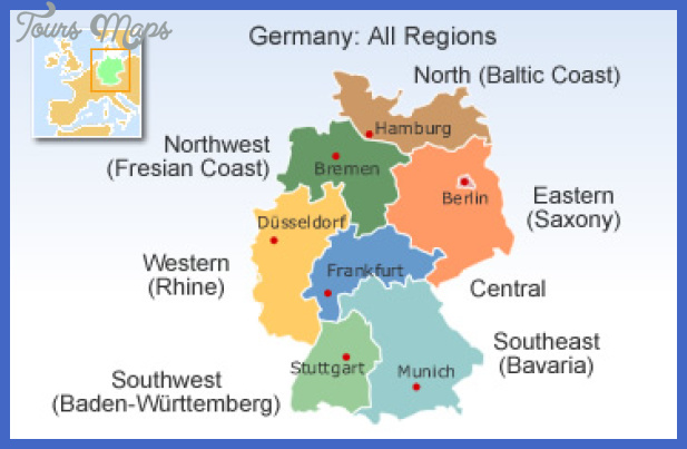 germany map 365x235 default Essen Düsseldorf Map Tourist Attractions