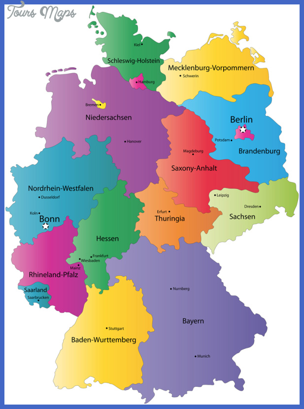 germany map Germany Map Tourist Attractions