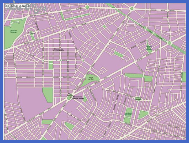 guadalajara1 Guadalajara Map