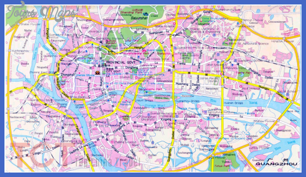 guangzhou map tourist attractions  5 Guangzhou Map Tourist Attractions
