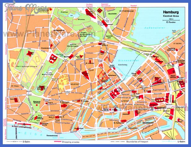 hamburg map  5 Hamburg Map