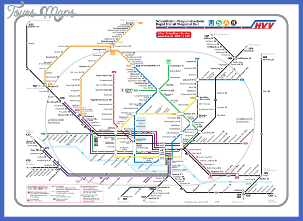 hamburg metro map 3 Hamburg Metro Map