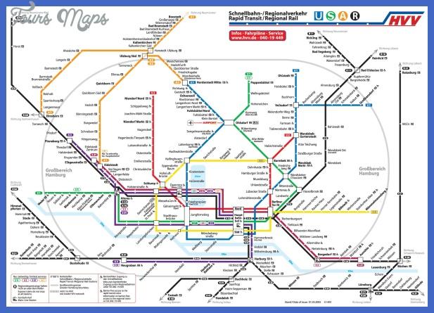 hamburg metro map Tanzania Metro Map