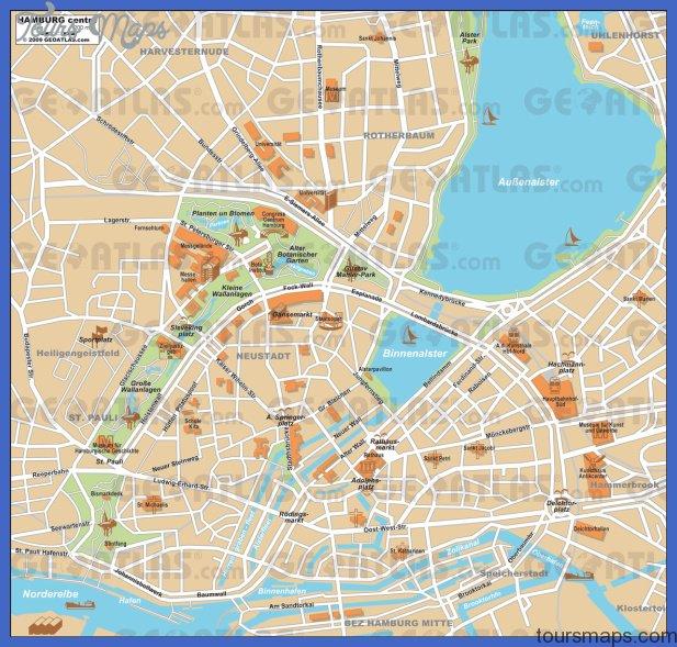 hamburg Hamburg Map