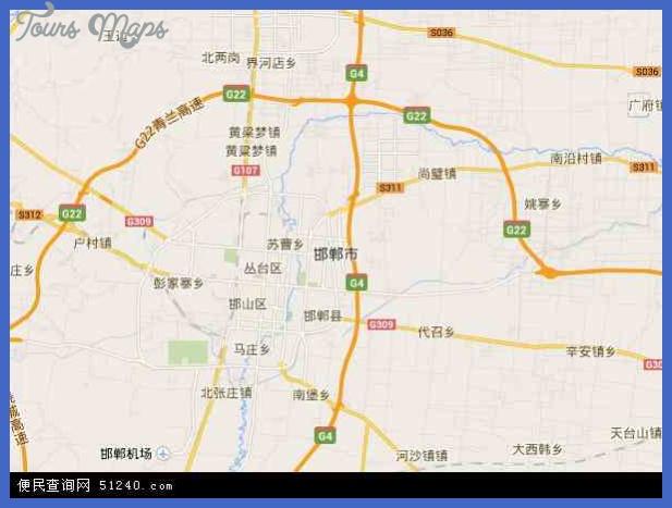 handan map  23 Handan Map