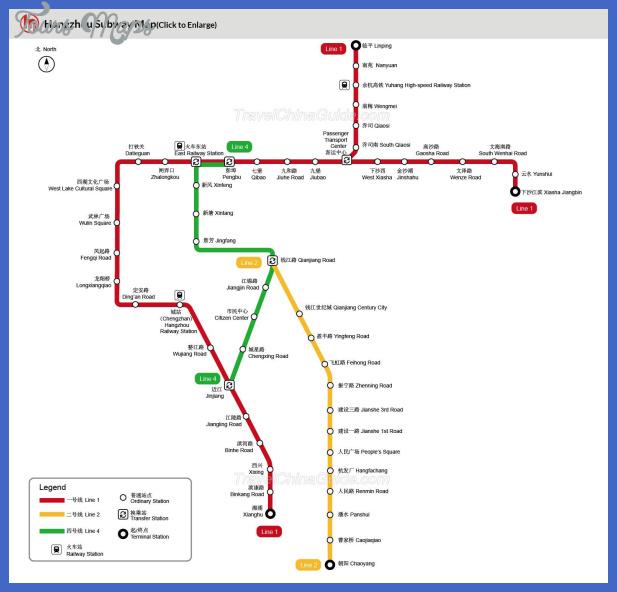 hangzhou map tourist attractions  4 Hangzhou Map Tourist Attractions