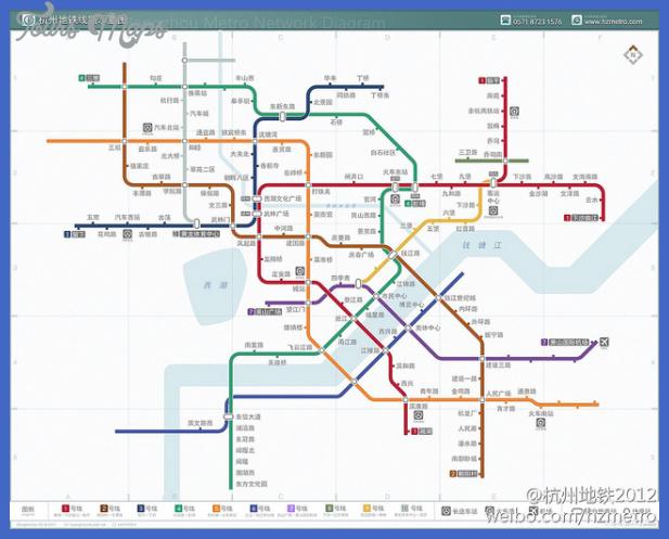 Hangzhou Metro Map Toursmaps Com